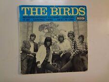 "BIRDS:(w/Ronnie Wood Of Rolling Stones)France 7"" 1966 Decca 457.114Medium EP PCV"