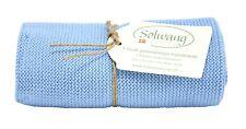 Handtuch, Küchentuch gestrickt / hellblau H23 Solwang DK