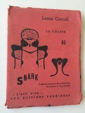 Lewis Carroll La chasse au Snark E/O Illustrations Max Ernst Surréalisme livre