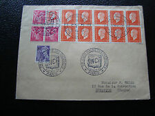 FRANCE - enveloppe 11 12/11/1950 (cy50) french