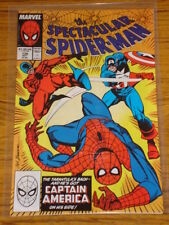 SPIDERMAN SPECTACULAR #138 VOL1 MARVEL CAPT AMERICA NIGHT OF THE FLAG MAY 1988