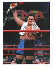m310 Samoa Joe  signed Wrestling 8x10 w/COA