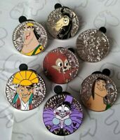 Emperor's New Groove 2018 Hidden Mickey Set DLR Choose a Disney Pin