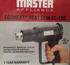 MASTER APPLIANCE EC-100 Heat Gun, 500 to 1000F, 10A, 7.0/9.0 cfm
