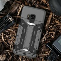 Samsung Galaxy S8 Plus Note 8 Shockproof Slim Stand case Card Slot Wallet Cover