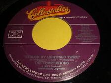 The Temptations: Struck By Lightning Twice / Power 45 - Soul