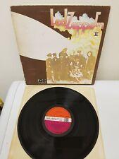 Led Zeppelin Two II Lemon Song LP Plum And Orange UK Press Vinyl Atlantic 588198