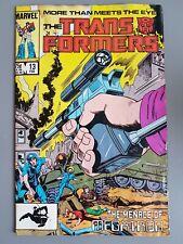 Transformers #13 1986 - Marvel Transformers Comics Don Perlin