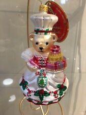 Christopher Radko Muffy's Great Cake Bake Glass Ornament 1020565
