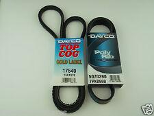 ISUZU D-MAX FAN BELT KIT SUITS TF MODEL WITH 3.0L 4JK1-TC T'DIESEL ENG 2012 ON
