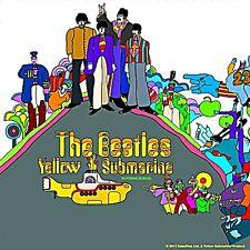 Beatles Yellow Submarine LP Cover cork backed drinks mat / coaster (ro)