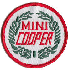 Classic MINI COOPER wreath embroidered patch