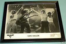 Van Halen Framed Black & White 8X10