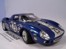 Ferrari 250 LM sebring 1965 de BURAGO en 1:18 en OVP Maquette de voiture Oldtimer