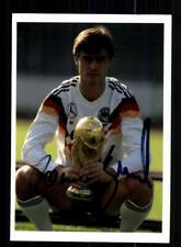 Thomas Berthold Autogrammkarte DFB Weltmeister 1990  Original Signiert