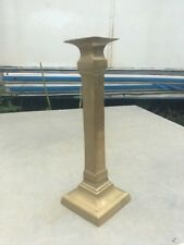 "Vintage Brass Candleholder 11 1/2"" Tall"