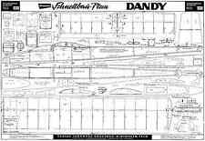 Graupner DANDY aliante piani