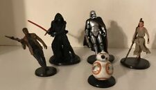 Disney Store Star Wars PVC Figure Figurine Play Set Lot of 5 Cake Topper Toys