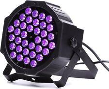 18x 3W UV Schwarzlicht LED Slim PAR56 DMX Scheinwerfer Floor Spot m. Funkempf.