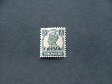 Bahrain KGVI 1942 3p slate SG38 MM