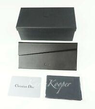 CHRISTIAN DIOR SUNGLASSES FOLDABLE CASE EYEGLASSES GLASSES CARD BOX
