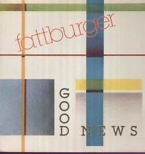 Fattburger-jazz fusion, Good News-original intima 3287-1 LP 1987