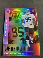 2019 Quinnen Williams Illusions RC Holo Prizm Refractor New York Jets
