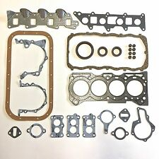 Complete Engine Gasket Oil Seal Set - 1.3 Liter G13A/B - Suzuki Samurai 86-95