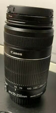 PreOwned Canon EF-S 55-250mm F/4-5.6 IS II Telephoto Zoom Lens Image Stabilizer