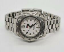Tag Heuer 2000 WK1311 White Classic SS  Women's  Watch Timepiece