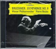 Pierre Boulez: Bruckner Symphony No. 8 Haas Vienna Filarmonica DG CD Filarmonica