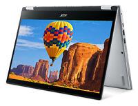 "NEW Acer Spin 3 Convertible 14"" HD AMD Ryzen 3-3250U 4GB RAM 128GB SSD Win 10"