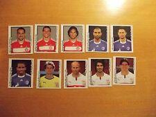 10 Panini-Sticker Bundesliga 08/09