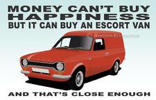 Ford Escort Mk1 Van  illustration Novelty Fridge Magnet FM101