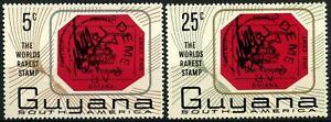 Guyana 1967 SG#414-5 World Rarest Stamp MNH Set  #C178