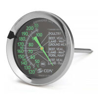 CDN ProAccurate® Meat/Poultry Ovenproof Thermometer - IRM200-Glow