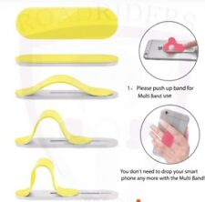 Roadriders' Yellow Multiband Phone Grip