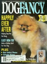 1995 Dog Fancy Magazine: The Pomeranian/The American Staffordshire Terrier