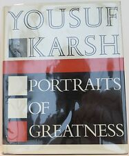 YOUSEF KARSH Portraits of Greatness INSCRIBED SECOND PRINTING