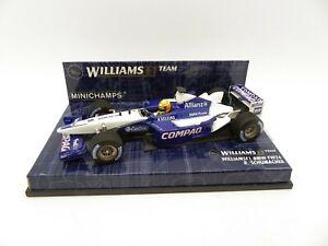 Williams BMW FW24 Ralph Schumacher #5 2002 MINICHAMPS 1/43 F1 Formula 1