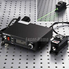 500mW 532nm Green Laser DOT Module + TTL/Analog + TEC + Digital Display + Power