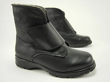 TOE WARMERS Vintage Canadian Shearling-Cuff Winter Ankle Boots Womens 7 WW