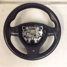 BMW F10 MSPORT BLACK LEATHER MULTI FUNCTION  STEERING WHEEL