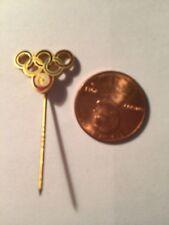 OLD Olympic Pin Tunisia NOC Brass Enamel pin