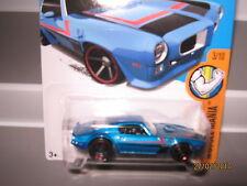 Hot wheels 73 Pontiac firebird blue met 123/250 mint boxed 2015