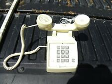 Cortelco Corded Vintage Desk Phone Model # 250044-Mba27Fc Color Beige-Untested