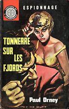 Arabesque Espionnage 234 - Paul Orney - Tonnerre sur...- EO 1962 - Jef de Wulf