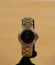 Movado 81 A1 827 2 Women's Two Tone Museum Dial Dress Watch * Pre-owned*