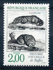 STAMP / TIMBRE FRANCE NEUF N° 2539 ** FAUNE / LOUTRE