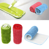 Reusable Microfiber Pad For Spray Mop Replacement Heads Useful For Wet/Dry Mops